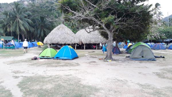 Parque Tayrona - Cabo San Juan - Camping