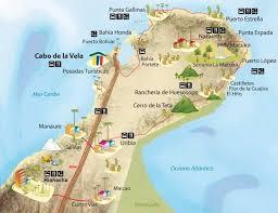 Guajira mapa