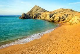 Guajira desrt beach