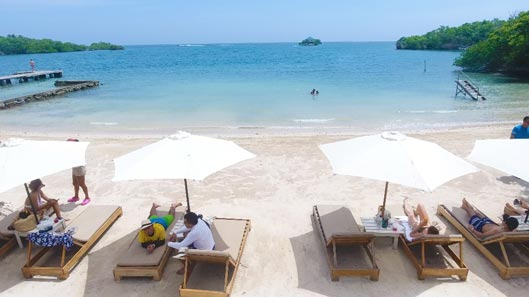 playa isla rosario