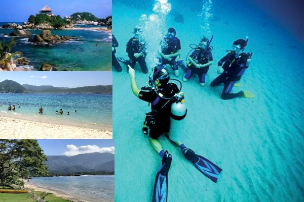 Diving buceo + parque Tayrona